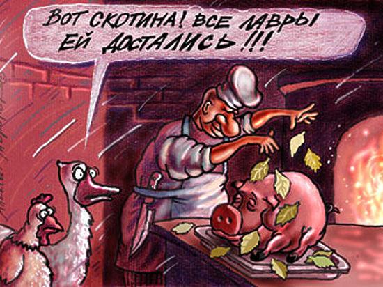 Индейки против свиней: как три генерала миллион воронежцев мясом накормили