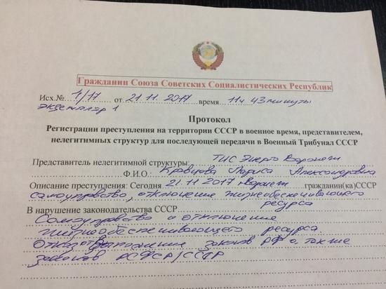Воронежской сотруднице «ТНС энерго» пригрозили советским военным трибуналом