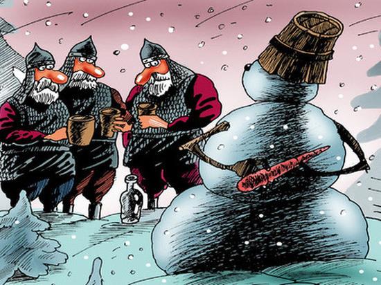 Новогодние страшилки: в Берлине испугались, а в Воронеже - нет